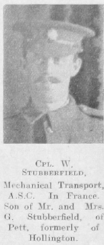 William G Stubberfield