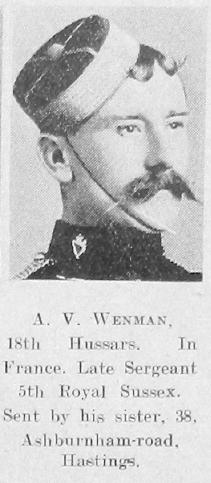 Arthur V Wenman