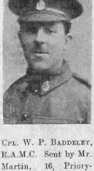 William P Baddeley