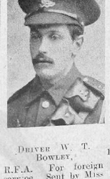 William T Bowley