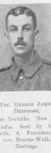 Deeprose, George James
