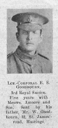 Ernest S Goodbourn