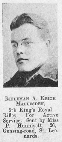 Arnold Keith Maplesden