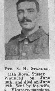 Sidney Herbert Standen
