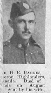 Harold Reginald Barnes