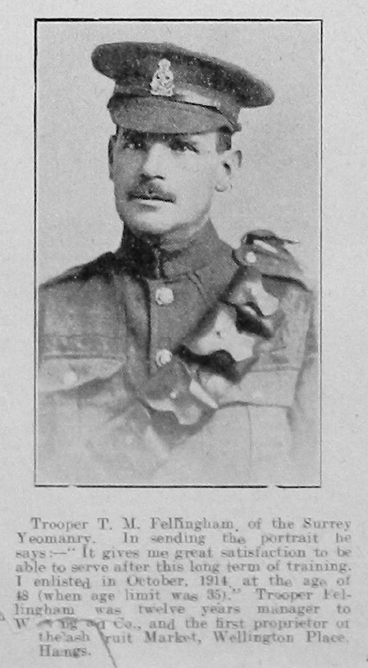 Thomas M Fellingham
