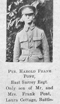 Harold Frank Pont