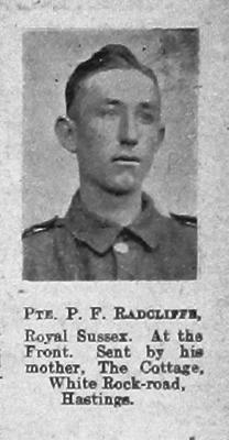 Percy F Radcliffe