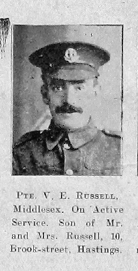 Victor E Russell