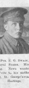 Swain, Ernest G