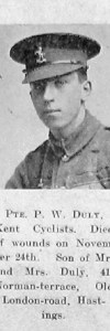 Duly, Percy William