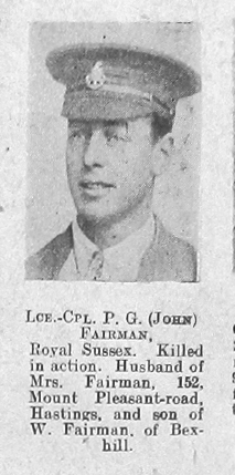 Percy Gordon Fairman