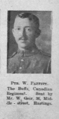 William Charles Walter Paffitt