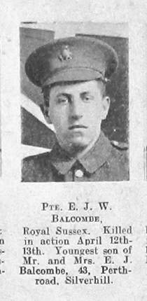 Edward John William Balcombe