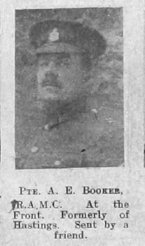 Albert E Booker