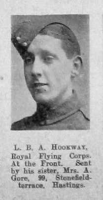 Hookway, Louis Brian Alan