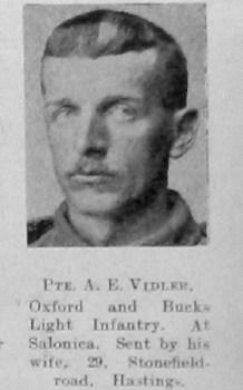 Albert E Vidler