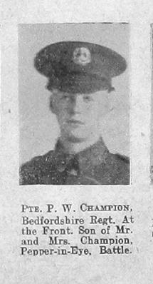 Champion, Percy W
