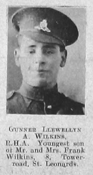 Llewellyn A Wilkins