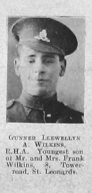 Wilkins, Llewellyn A