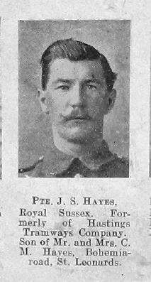 J S Hayes
