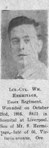 Hermitage, William
