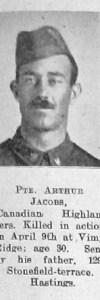 Jacobs, Arthur Ernest