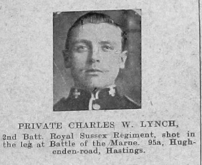 Charles W Lynch