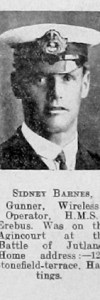 Barnes, Sidney