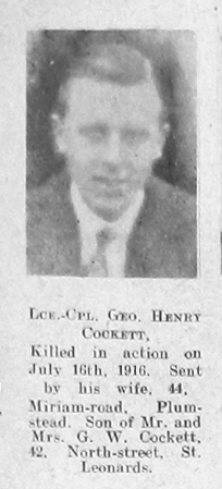 Cockett, George Henry