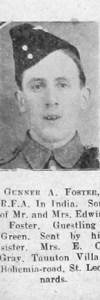 Foster, A