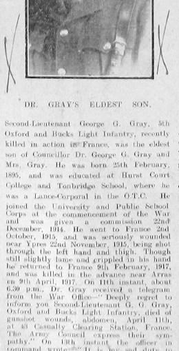 Gray, George Godfrey