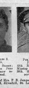 Jempson, Charles Stapley
