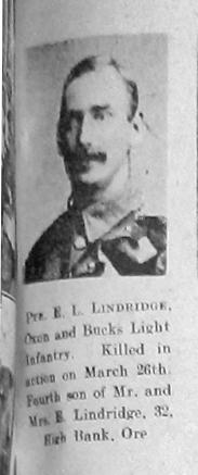 Ernest Leonard Lindridge