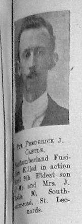 Frederick J Castle