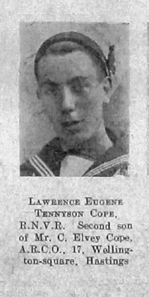 Lawrence Eugene Tennyson Cope