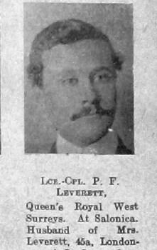 Percy F Leverett