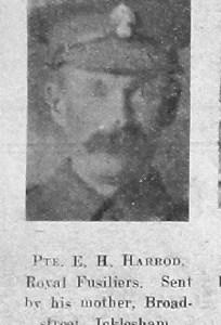 Ernest H Harrod