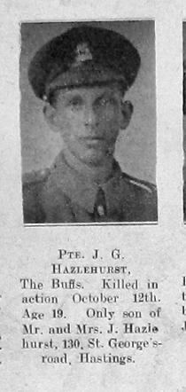 J G Hazelhurst