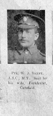 William J Saxby