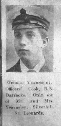 Yearnsley, George William Harold