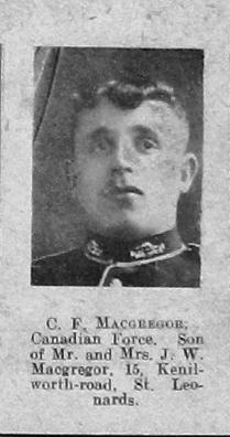 MacGregor, Charles Frederick