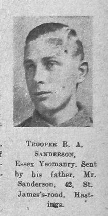 R A Sanderson