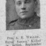 Albert E Weller