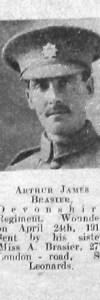 Brasier, Arthur James