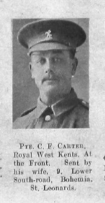 Carter, C F