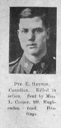 Hutton, Elmer Robert