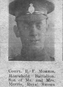 Reginald F Morris