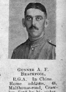Albert F Brackpool