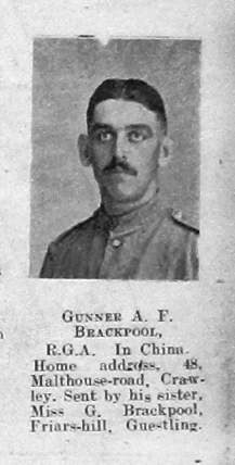 Brackpool, Albert F
